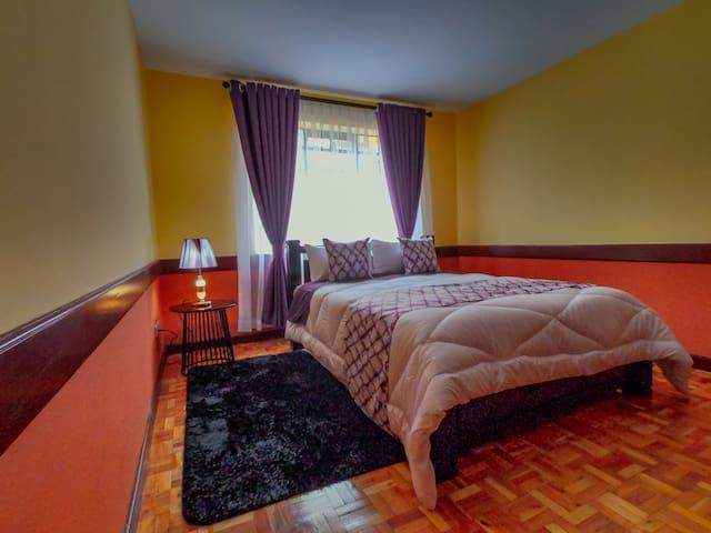 Jabez Room - A beautiful cozy room.