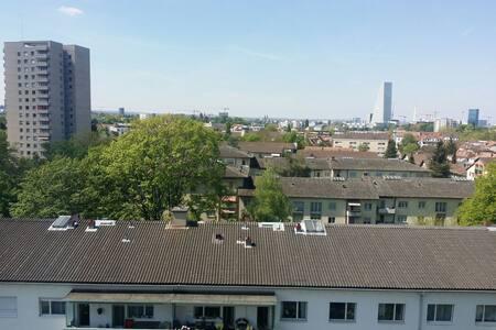 """Grünen"", ruhig, zentral, - Birsfelden - Huoneisto"