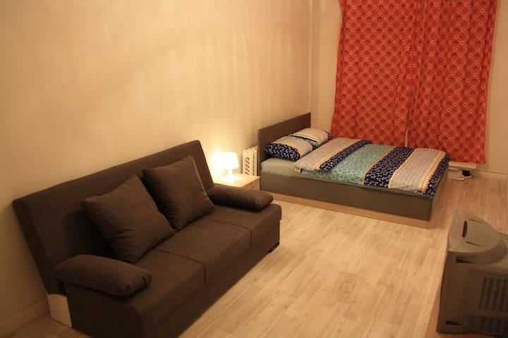 Апартаменты Сердоболь , возле причала - Sortavala - Obsługiwany apartament