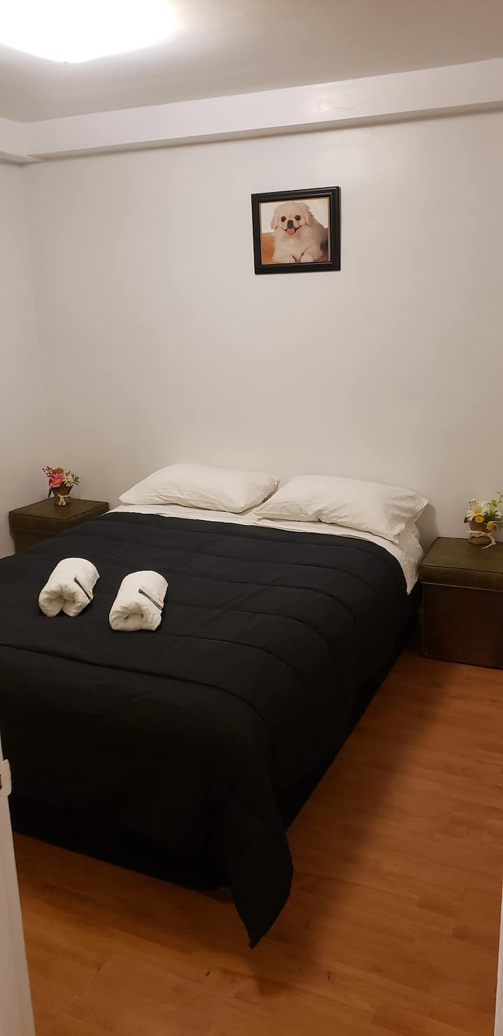 All White All Clean Toronto One Bedroom Apartment