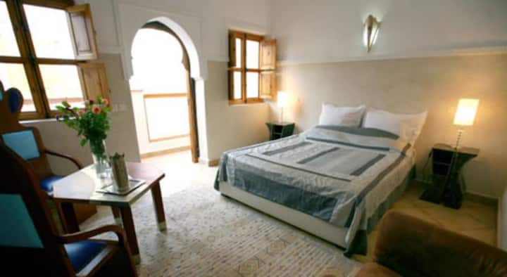 Riad Chalymar one or several doubles/triples rooms