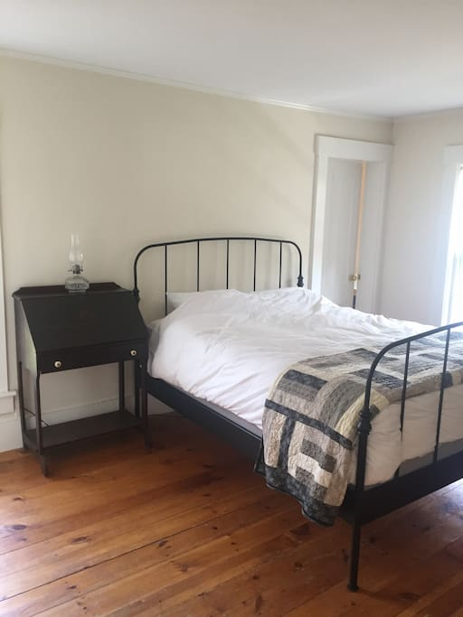 The hickory bedroom- Queen bed