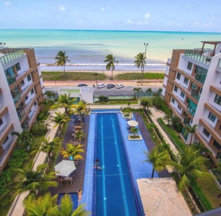 Excelente Apt. 2 Quartos,  Beira Mar, Cabo Branco!