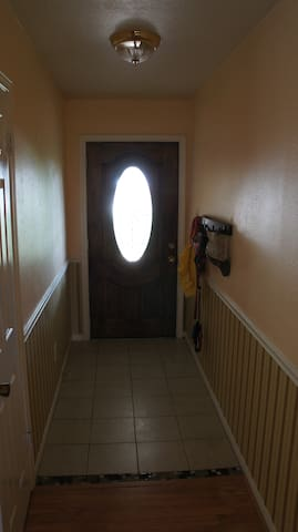 Front entry way.
