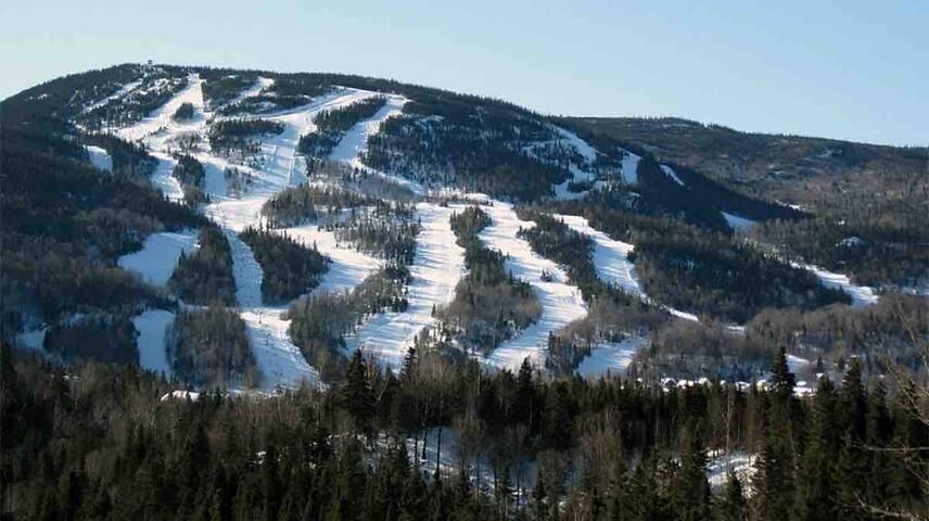 En ski CHEZ MIC !!!