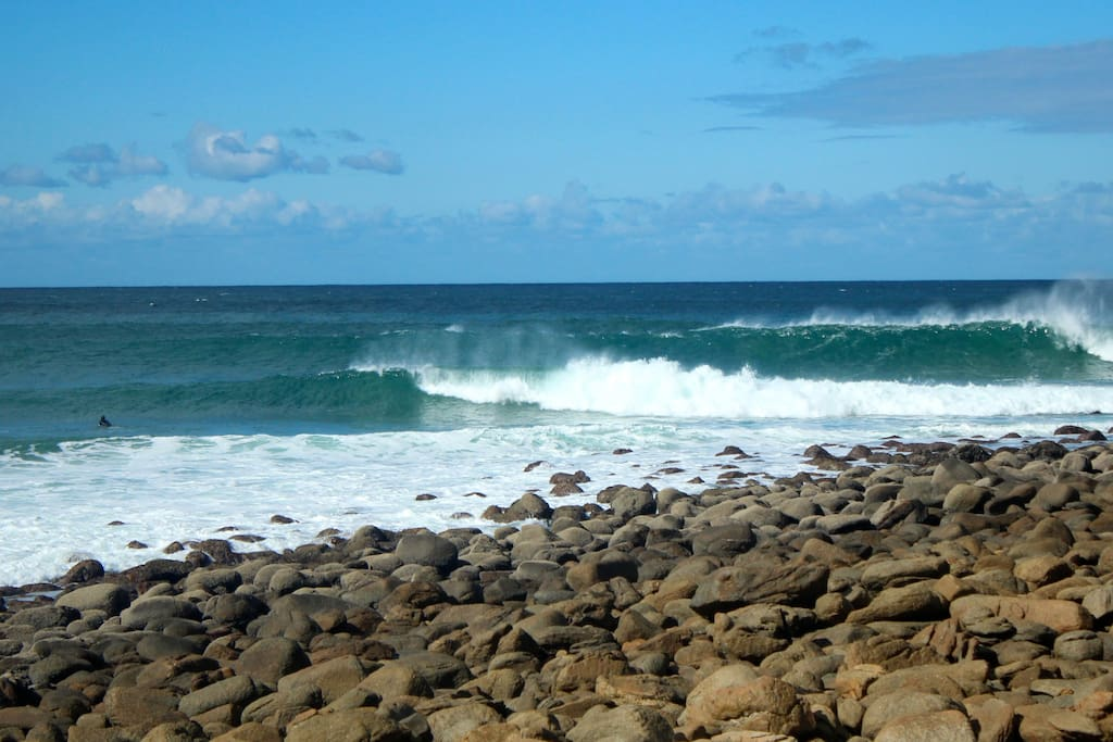 Excellent surf all year round