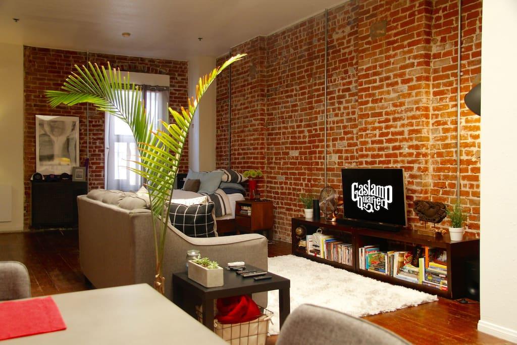 Gaslamp quarter loft lofts louer san diego - Loft industriel san diego californie ...