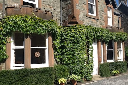 Twin room in traditional home - Kirkcudbright - Huis