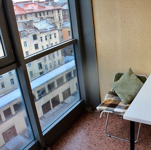 City View Balcony Central Studio