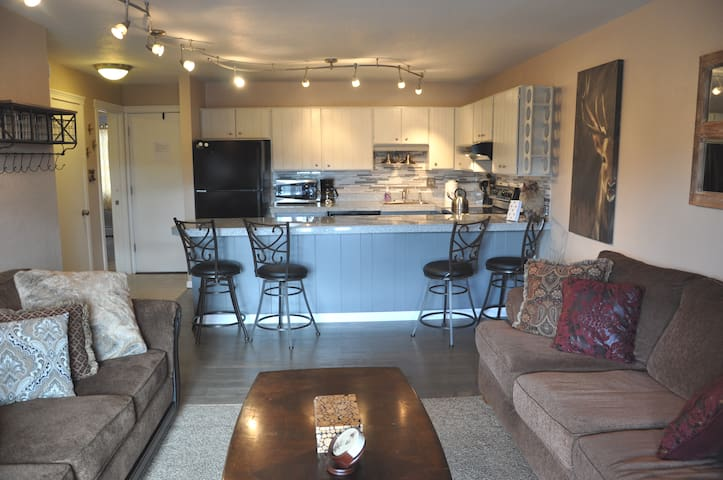 Newly remodeled, clean and comfortable condo