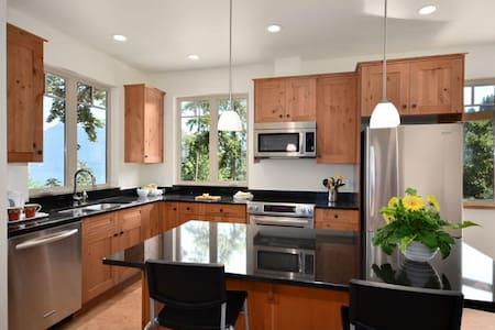 Ocean view home near Snug Cove - Bowen Island