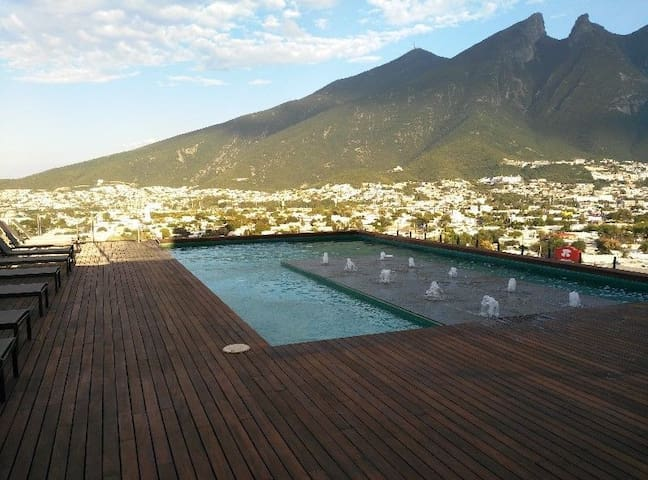 Best Place, Executive New Apartment Private 2 Beds - Monterrey