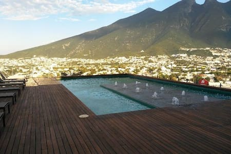 Best Place, Executive New Apartment Private 2 Beds - Monterrey - Wohnung