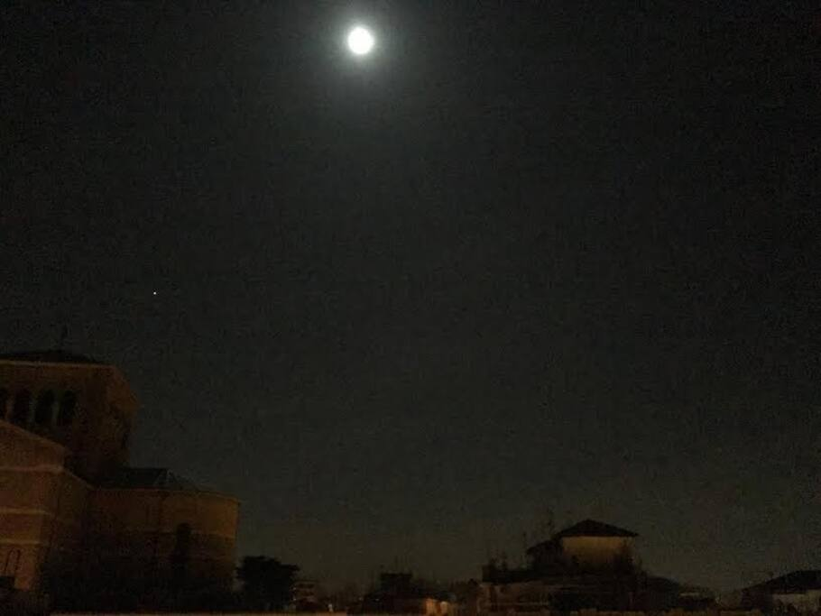apartment night view
