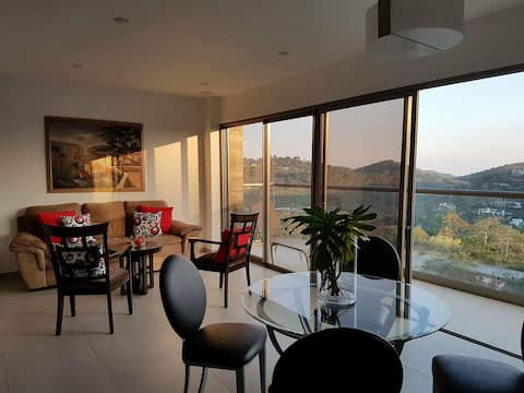 New apartment with beautiful view. New Cuscatlan