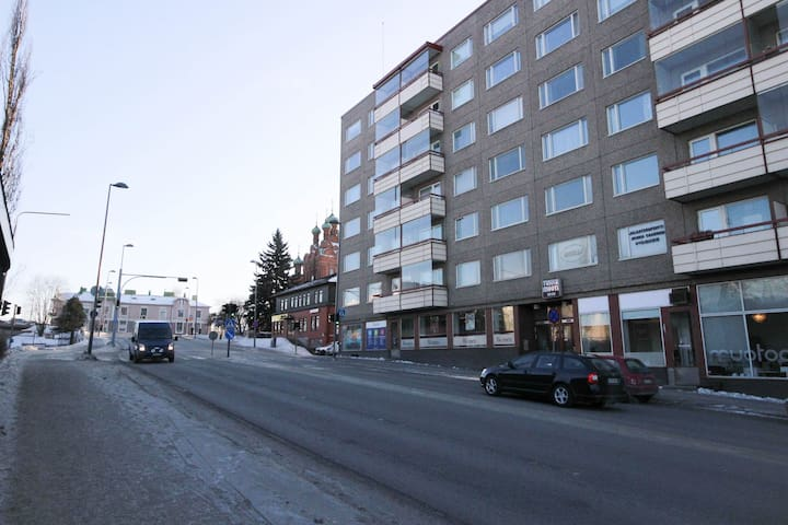 Stylish and peaceful one bedroom apartment in Tampere city center