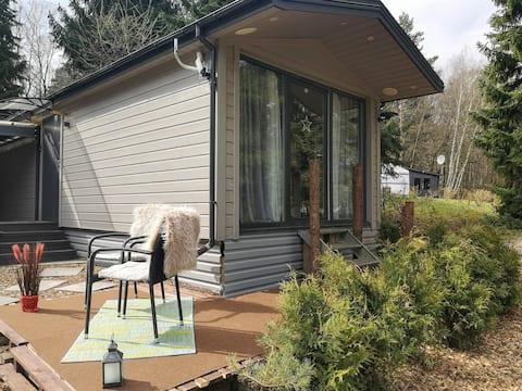 Glamping Urlaub im Tiny Haus
