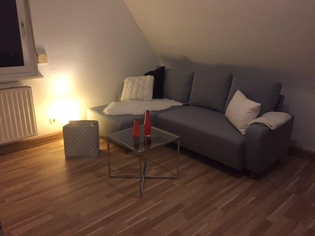 Gemütliche & moderne 3-Zimmer Wohnung - Rottweil - Apartment