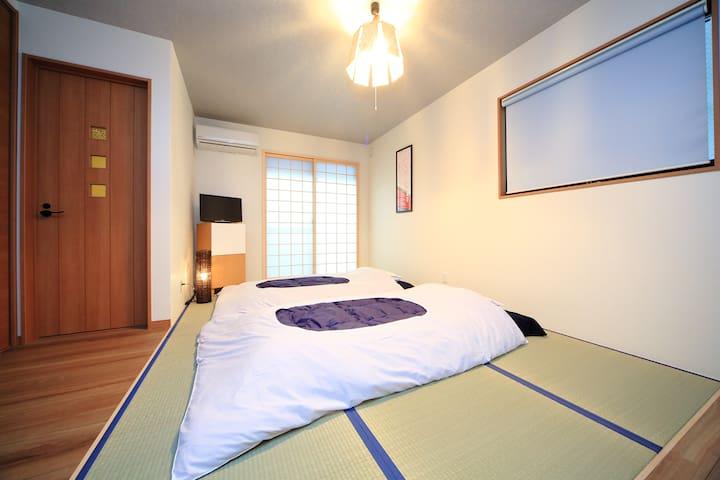 Cozy Studio apt w/ Gardenー SAFE & CLEAN