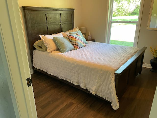 Second bedroom on main level with Queen bed