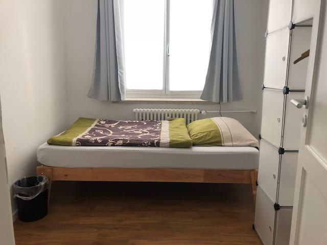 Helles, ruhiges Zimmer im Zentrum von München