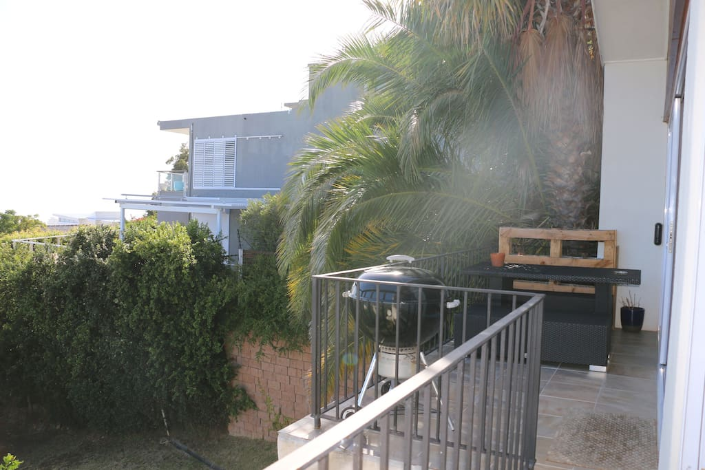 Balcony/ outside area and BBQ facilities