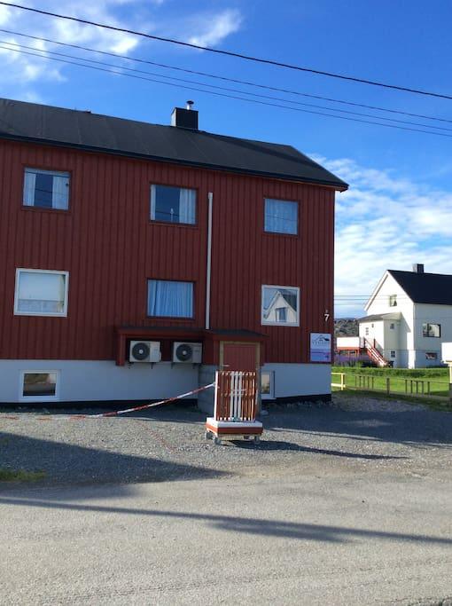 House, parking place