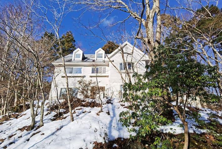 (可接送)MK House 富士山山中湖畔30秒 (Fuji,Yamanakako