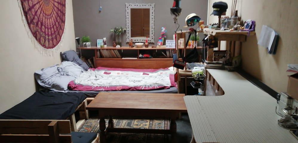 Chambre  lit doublet- etterbeek Jourdan/shuman