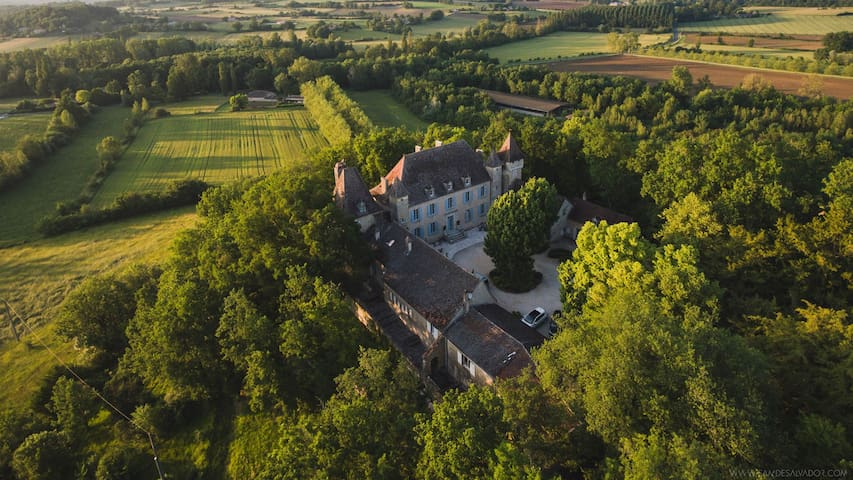 Charming B&B in a 17C castle - St Charles suite