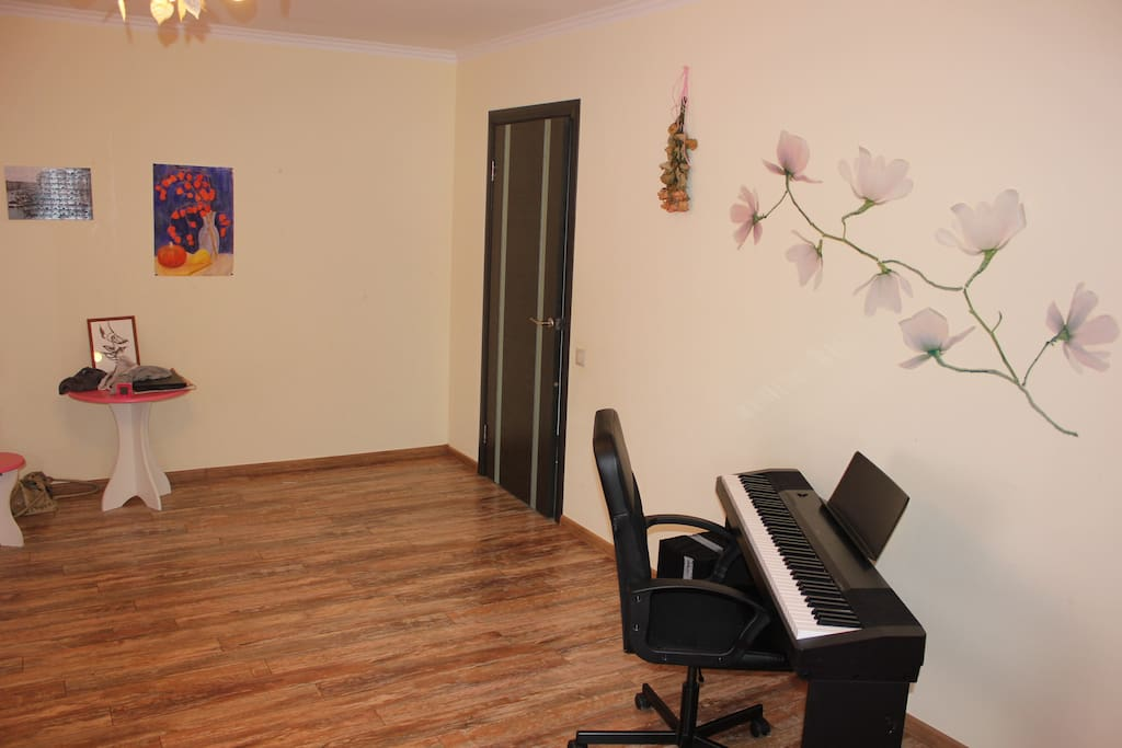 Piano in this room