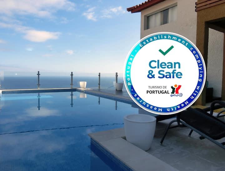 Casa Marias - pool and seaview