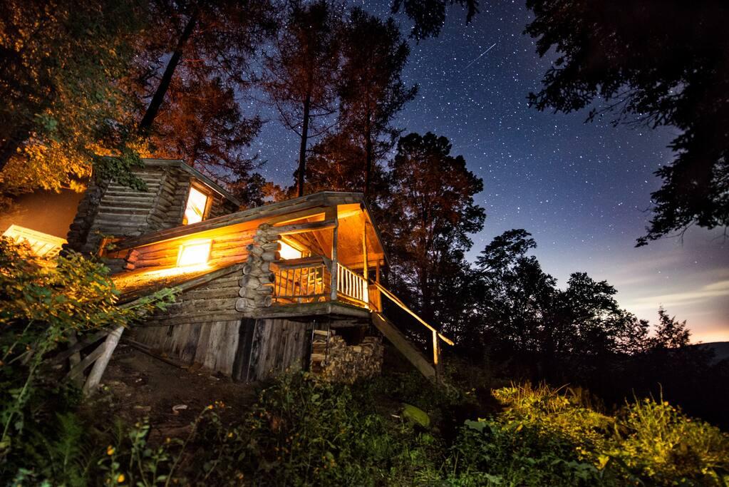 See the stars at night