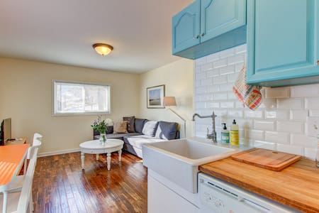 Cute apt. near Downtown Golden - Golden - Leilighet