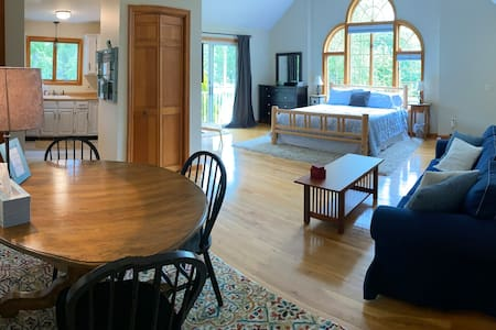 Spacious in-law apartment 1 mi. from MHC