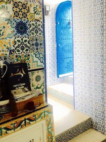 Quiétude et charme à Sidi Bou Said