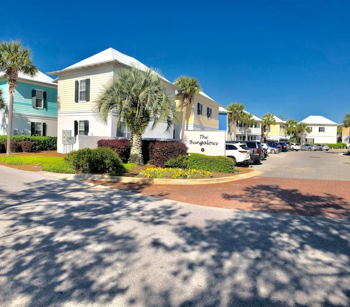 30A-Bungalo#6, 2Bed/2.5 Bath, 400 yards to Beach
