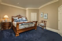 Upstairs king size suite