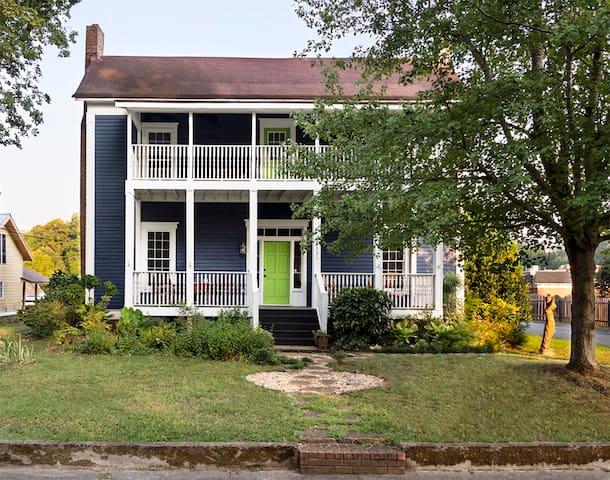 The Big Blue House of Acworth, GA