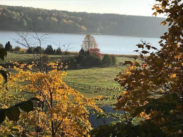 Beautiful living in the countryside of Sweden.