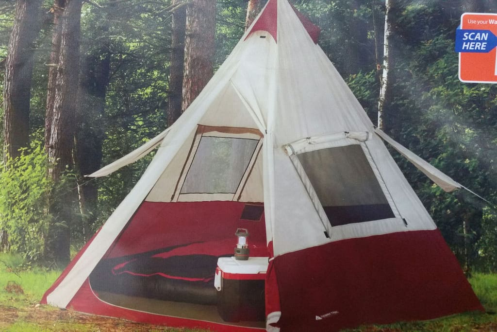 Your own private Teepee.