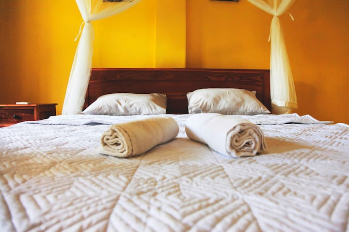 A double King bed just for you!