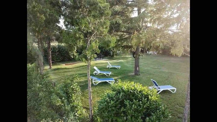Herbstzeit genießen mit beh. Pool-bis zu 4 Pers.