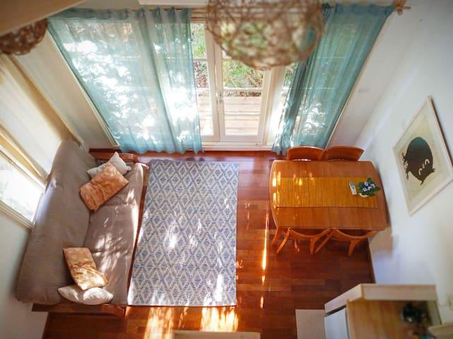 Blue House - Living room