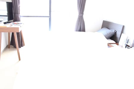 天神1205★1minTenjin★Room wifi OK★主要駅送迎無料 - 福岡市 - Apartament