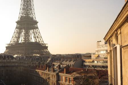 Eiffel Tower Studio in Paris - Paris - Condominium