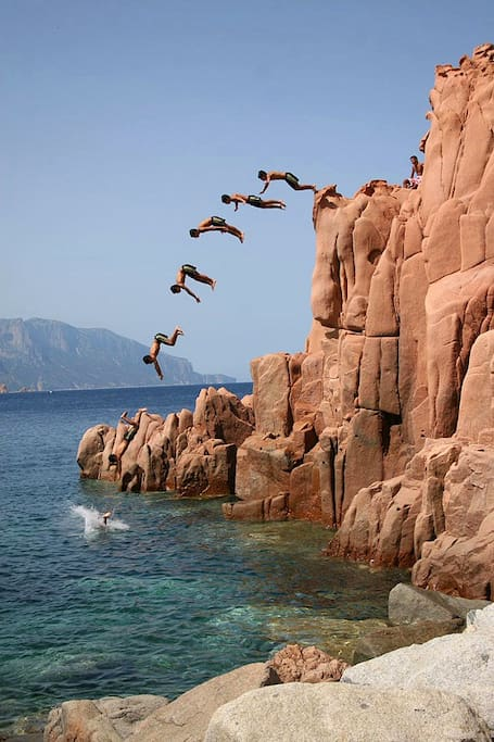Diving off Rocce rosse