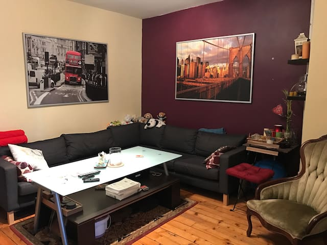 Cozy Room in LIC, 7 min to TimesSq - Nueva York - Departamento