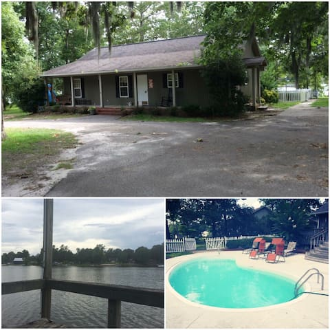 Peaceful Lake Marion Waterfront home - Manning - Huis