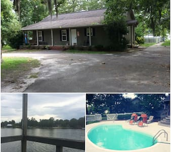 Peaceful Lake Marion Waterfront home - Manning